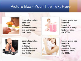 Mother changing PowerPoint Template - Slide 14