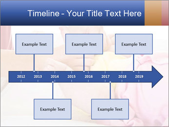 Mother changing PowerPoint Template - Slide 28