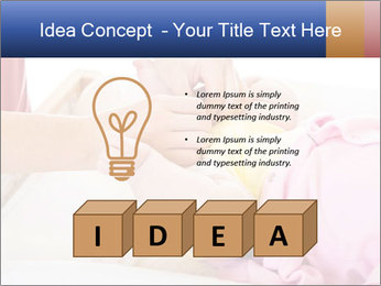 Mother changing PowerPoint Template - Slide 80