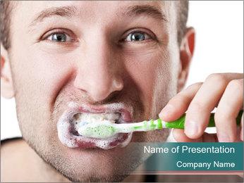 Dental hygiene PowerPoint Template - Slide 1