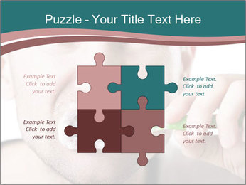 Dental hygiene PowerPoint Template - Slide 43