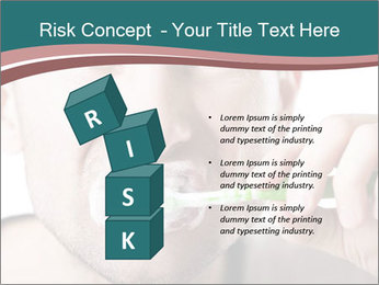 Dental hygiene PowerPoint Template - Slide 81