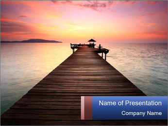 The Way PowerPoint Template - Slide 1