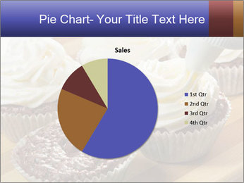 Chocolate muffin with vanilla cream PowerPoint Template - Slide 36