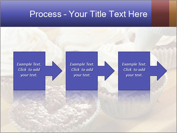 Chocolate muffin with vanilla cream PowerPoint Template - Slide 88