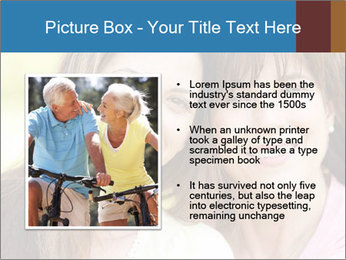 Portrait Hispanic mother PowerPoint Template - Slide 13