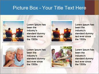 Portrait Hispanic mother PowerPoint Template - Slide 14