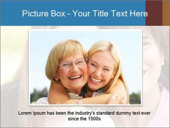 Portrait Hispanic mother PowerPoint Template - Slide 16