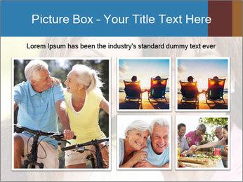 Portrait Hispanic mother PowerPoint Template - Slide 19
