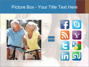 Portrait Hispanic mother PowerPoint Template - Slide 21