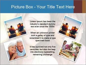 Portrait Hispanic mother PowerPoint Template - Slide 24