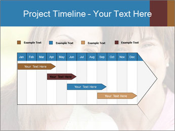 Portrait Hispanic mother PowerPoint Template - Slide 25