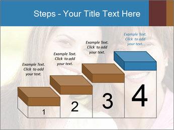 Portrait Hispanic mother PowerPoint Template - Slide 64