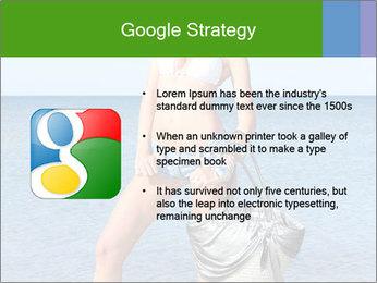 Beautiful model wearing jeans PowerPoint Templates - Slide 10