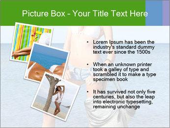 Beautiful model wearing jeans PowerPoint Templates - Slide 17