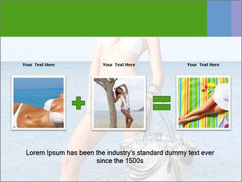 Beautiful model wearing jeans PowerPoint Templates - Slide 22