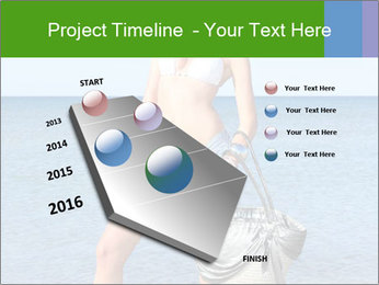 Beautiful model wearing jeans PowerPoint Templates - Slide 26