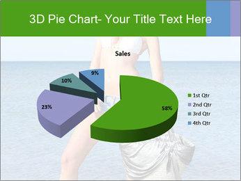 Beautiful model wearing jeans PowerPoint Templates - Slide 35
