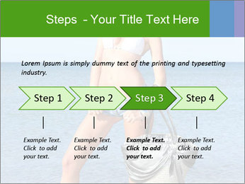 Beautiful model wearing jeans PowerPoint Templates - Slide 4