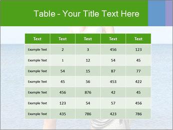 Beautiful model wearing jeans PowerPoint Templates - Slide 55