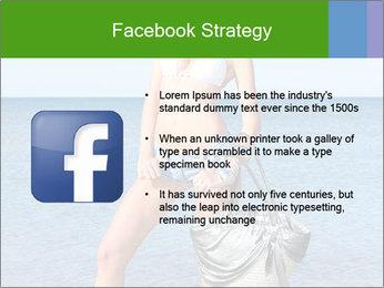 Beautiful model wearing jeans PowerPoint Templates - Slide 6