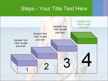Beautiful model wearing jeans PowerPoint Templates - Slide 64