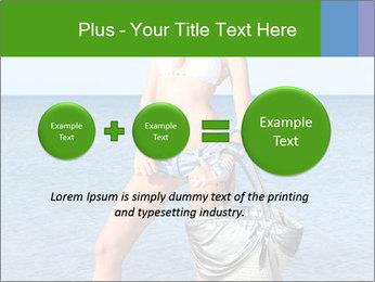 Beautiful model wearing jeans PowerPoint Templates - Slide 75