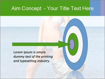 Beautiful model wearing jeans PowerPoint Templates - Slide 83