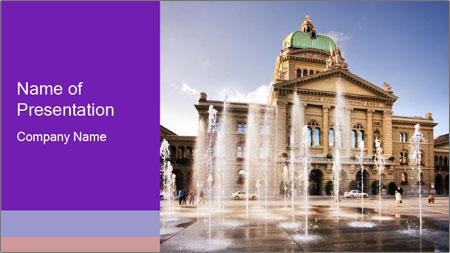 Swiss Parliament PowerPoint Template