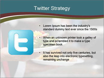 A person in line PowerPoint Template - Slide 9