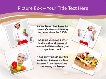Raw fish PowerPoint Template - Slide 24