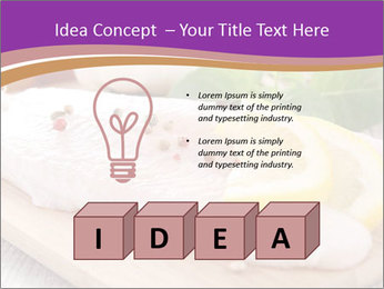 Raw fish PowerPoint Template - Slide 80