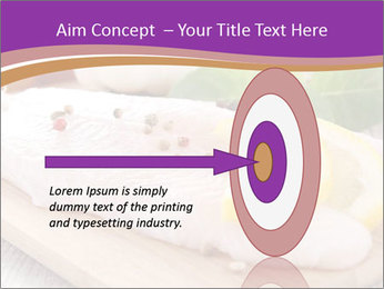 Raw fish PowerPoint Template - Slide 83
