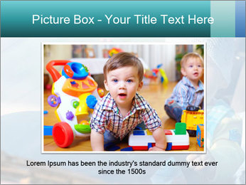 A little baby driving PowerPoint Templates - Slide 15