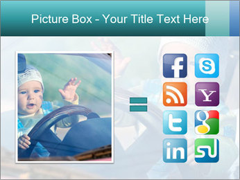 A little baby driving PowerPoint Templates - Slide 21
