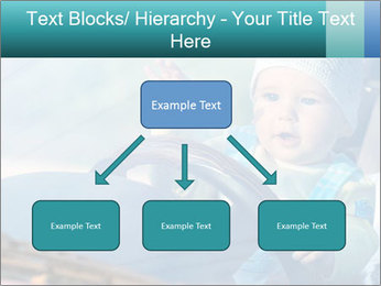 A little baby driving PowerPoint Templates - Slide 69