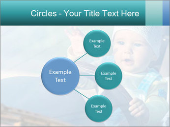 A little baby driving PowerPoint Templates - Slide 79