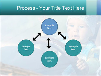 A little baby driving PowerPoint Templates - Slide 91