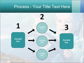 A little baby driving PowerPoint Templates - Slide 92