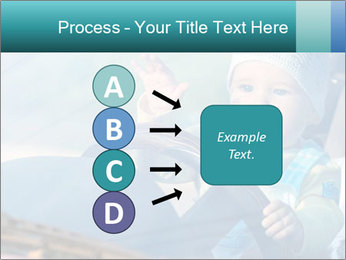 A little baby driving PowerPoint Templates - Slide 94
