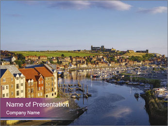North Yorkshire PowerPoint Template - Slide 1