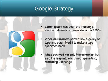 Group of corporate business people PowerPoint Template - Slide 10