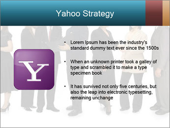 Group of corporate business people PowerPoint Template - Slide 11