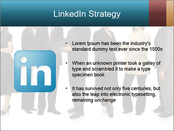 Group of corporate business people PowerPoint Template - Slide 12