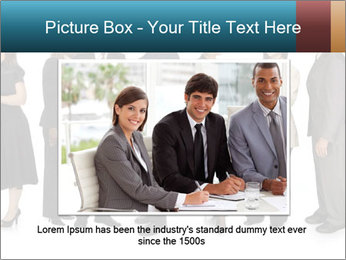 Group of corporate business people PowerPoint Template - Slide 16