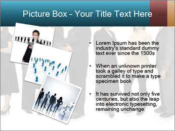Group of corporate business people PowerPoint Template - Slide 17