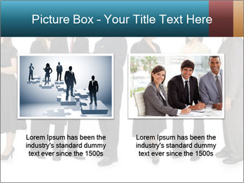 Group of corporate business people PowerPoint Template - Slide 18