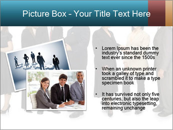 Group of corporate business people PowerPoint Template - Slide 20
