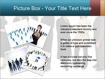 Group of corporate business people PowerPoint Template - Slide 23