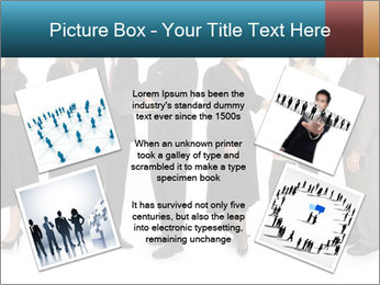Group of corporate business people PowerPoint Template - Slide 24